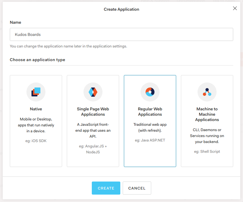 Application Wizard 1